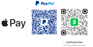 Scan to Pay for Massage Memphis